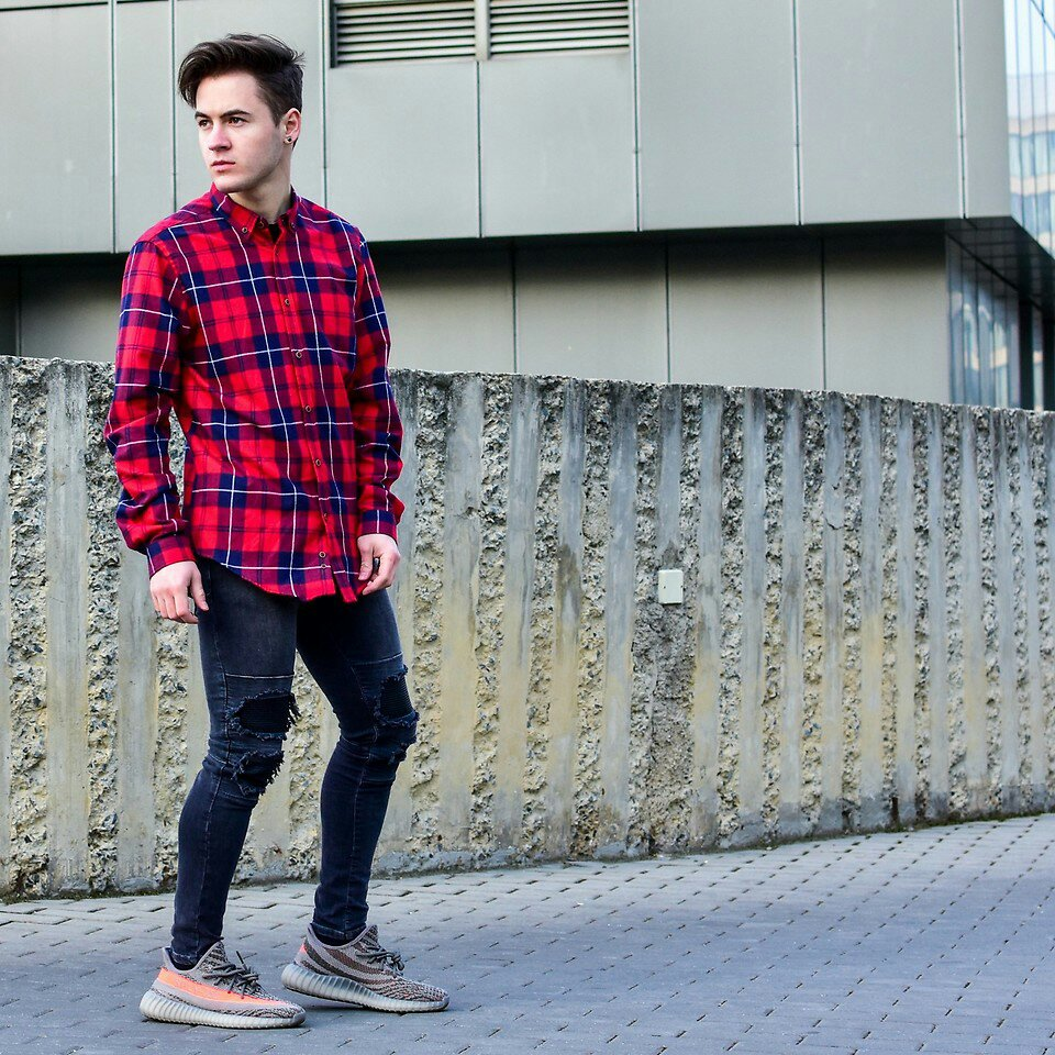 Moda Hombre Auf Twitter Vaqueros Rotos Con Una Camisa A