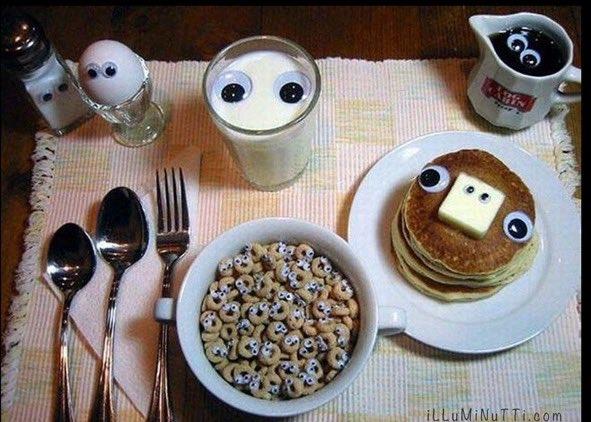#KellyanneConway 's Breakfast.
