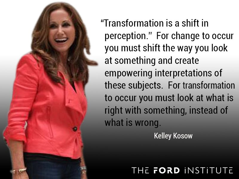 """""""Transformation is a shift in perception. For change to occur you must shift the way you look at..."""" @KelleyKosow https://t.co/ueDgxY86M0"""