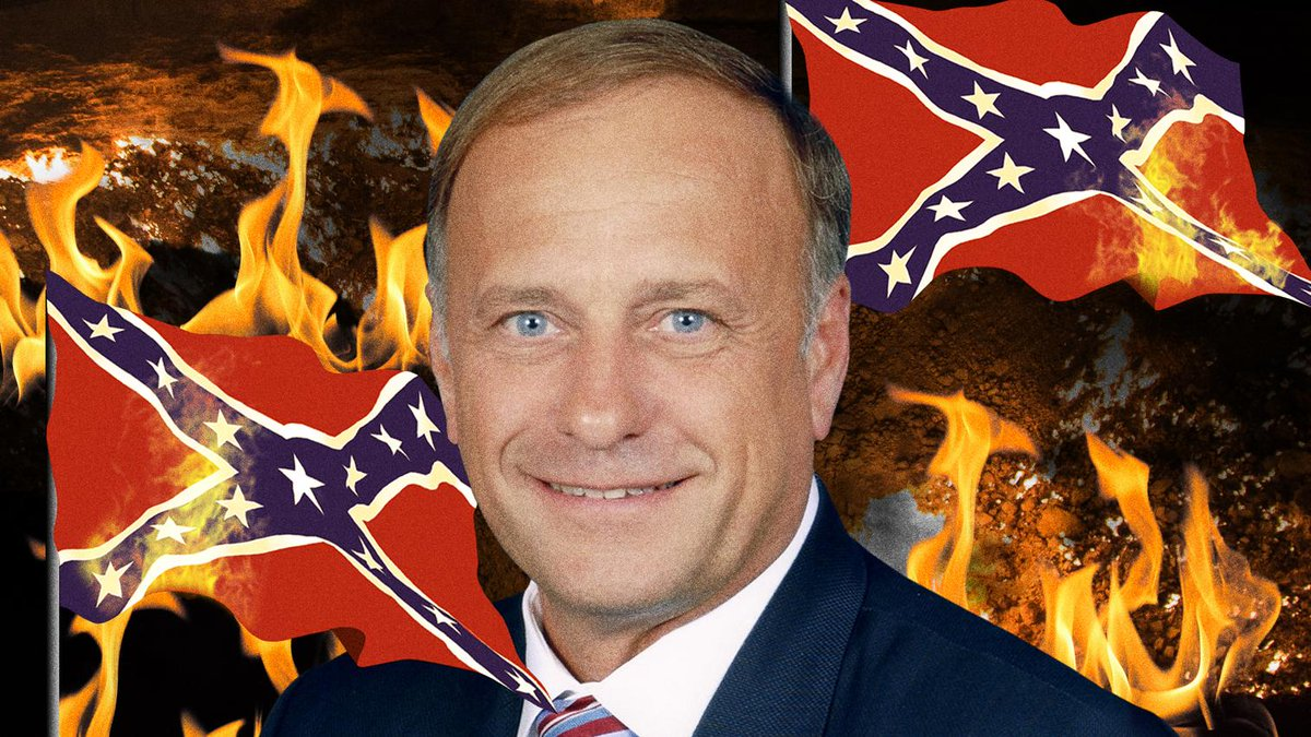 Image result for U.S. Rep. Steve King is a racist