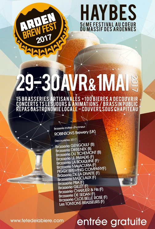 Venez fêter la 5ème édition de l&#39;Arden Brew Fest au cœur du massif de l&#39;#Ardenne en bord de voie verte <br>http://pic.twitter.com/Ubm16J95nj
