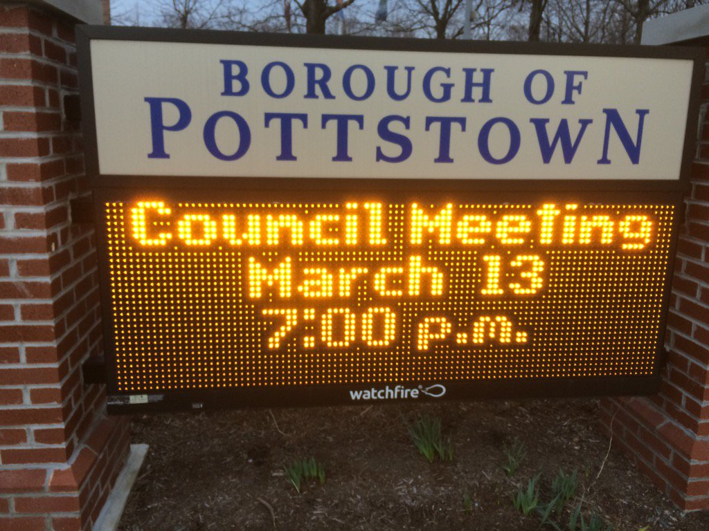 "What's the question on everyone's lips before a blizzard? ""What is Pottstown Council doing tonight?"" Find out here. https://t.co/csTqKr6O8h"