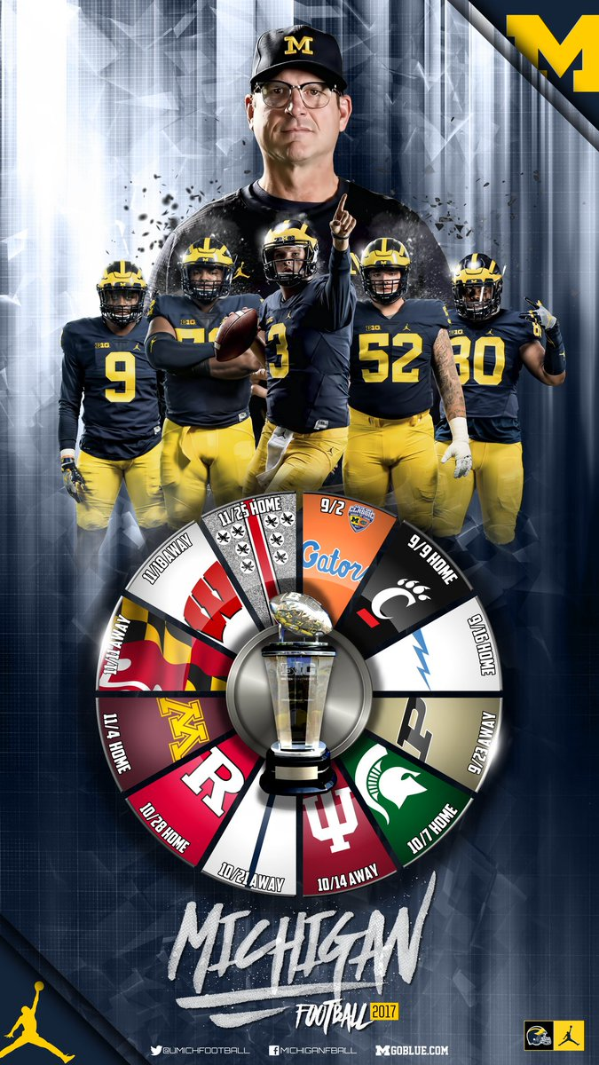 Aaron Bills On Twitter Michigan Football 2017 Schedule Wallpaper Im Sure Fall Cant Come Soon Enough For You Blue Bloods