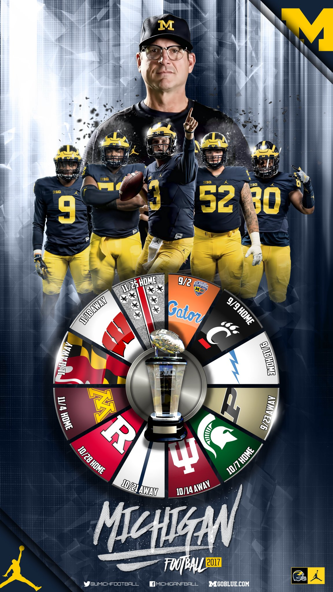 Aaron bills on twitter michigan football 2017 schedule wallpaper i 39 m sure fall can 39 t come - Michigan state football backgrounds ...