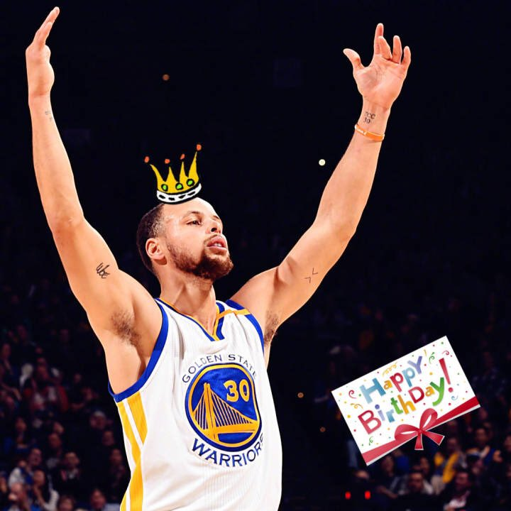 Happy birthday to my idol Stephen curry
