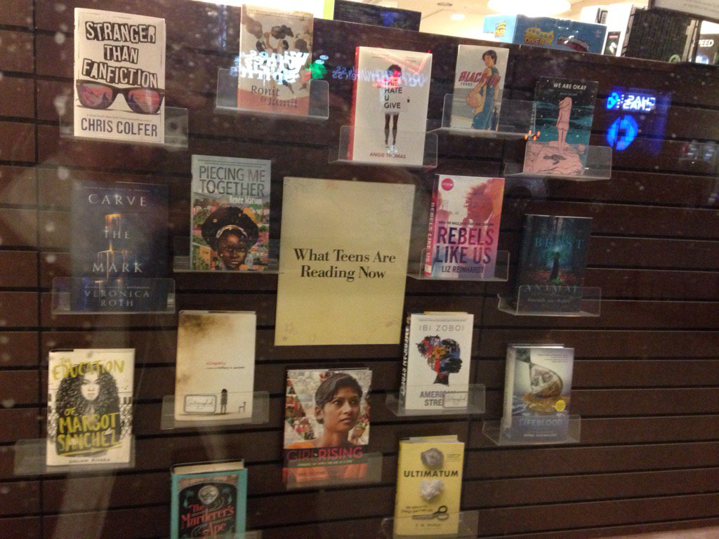 Love seein Stranger than Fanfiction by @chriscolfer at Court Street B&N. https://t.co/45STEZmooB