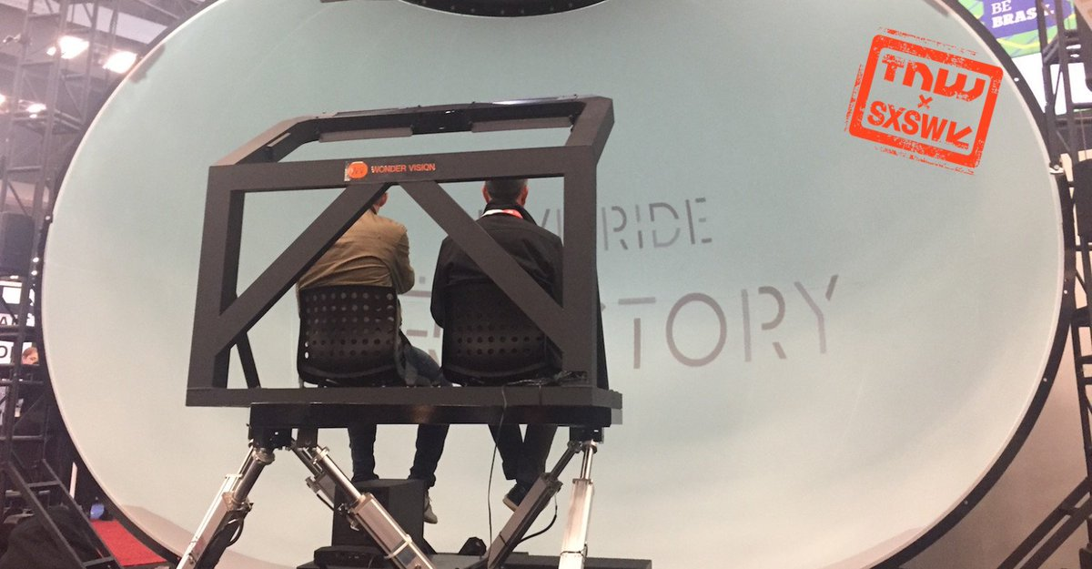 """I rode an 8K """"VR"""" rollercoaster and it was beautifully awkward"""