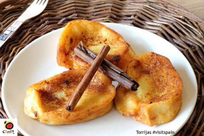 Torrijas madrilenas. How to cook recipes from Madrid.
