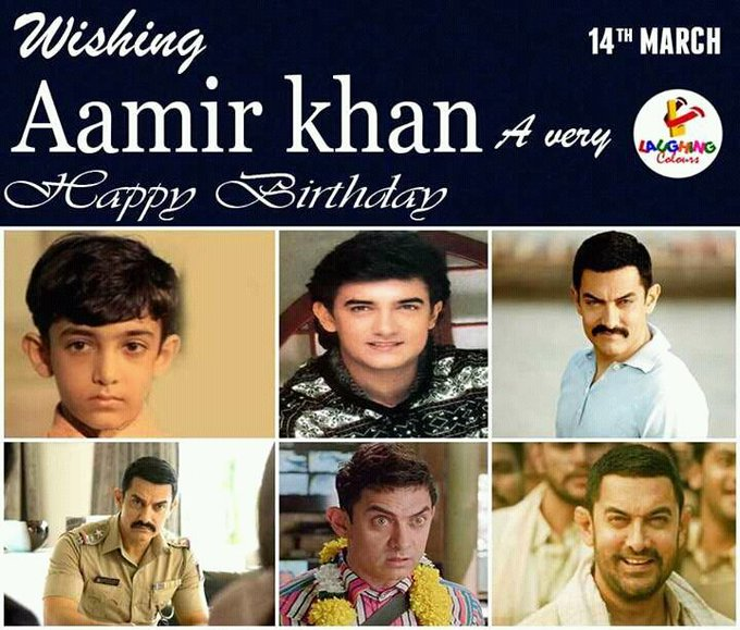 Wishing The Great Happy Birthday To Great Actor of Bollywood  Mr Perfectionist Aamir Khan