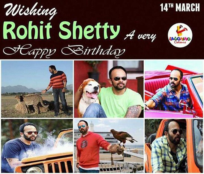 Wishing The Great Ace Film Maker A Very Happy Birthday  Sir RohiT ShEtty
