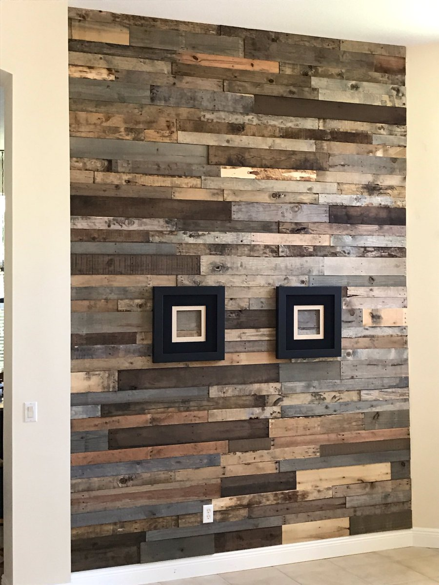 Let S Stone It On Twitter Beautiful Reclaimed Wood Accent Wall Colors Weathered Gray Ebony Naturals Https T Co Aufewqu2jy Reclaimedwood
