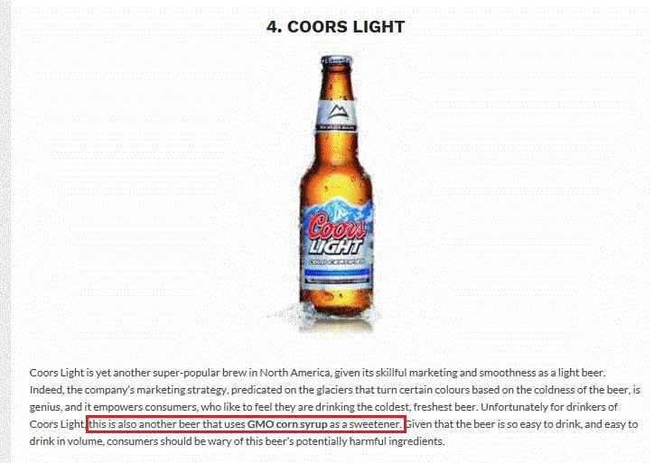 Besides #coronaExtra,#pabstBlueRibbon,#coorslight,#michelobUltra,#millerLite  U0026 #Budweiser Also Contain #GMO #corn Ingredients #beerpic.twitter.com/ ...