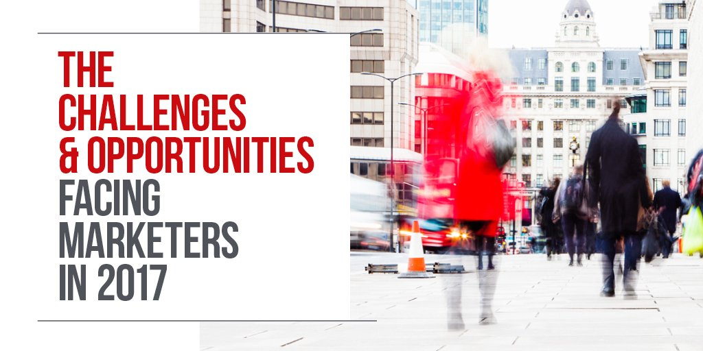 Our latest report The Challenges & Opportunities Facing Marketers in 2017 https://t.co/fyLreGcAcN #Brexit #GDPR https://t.co/nSXv3S7zLp