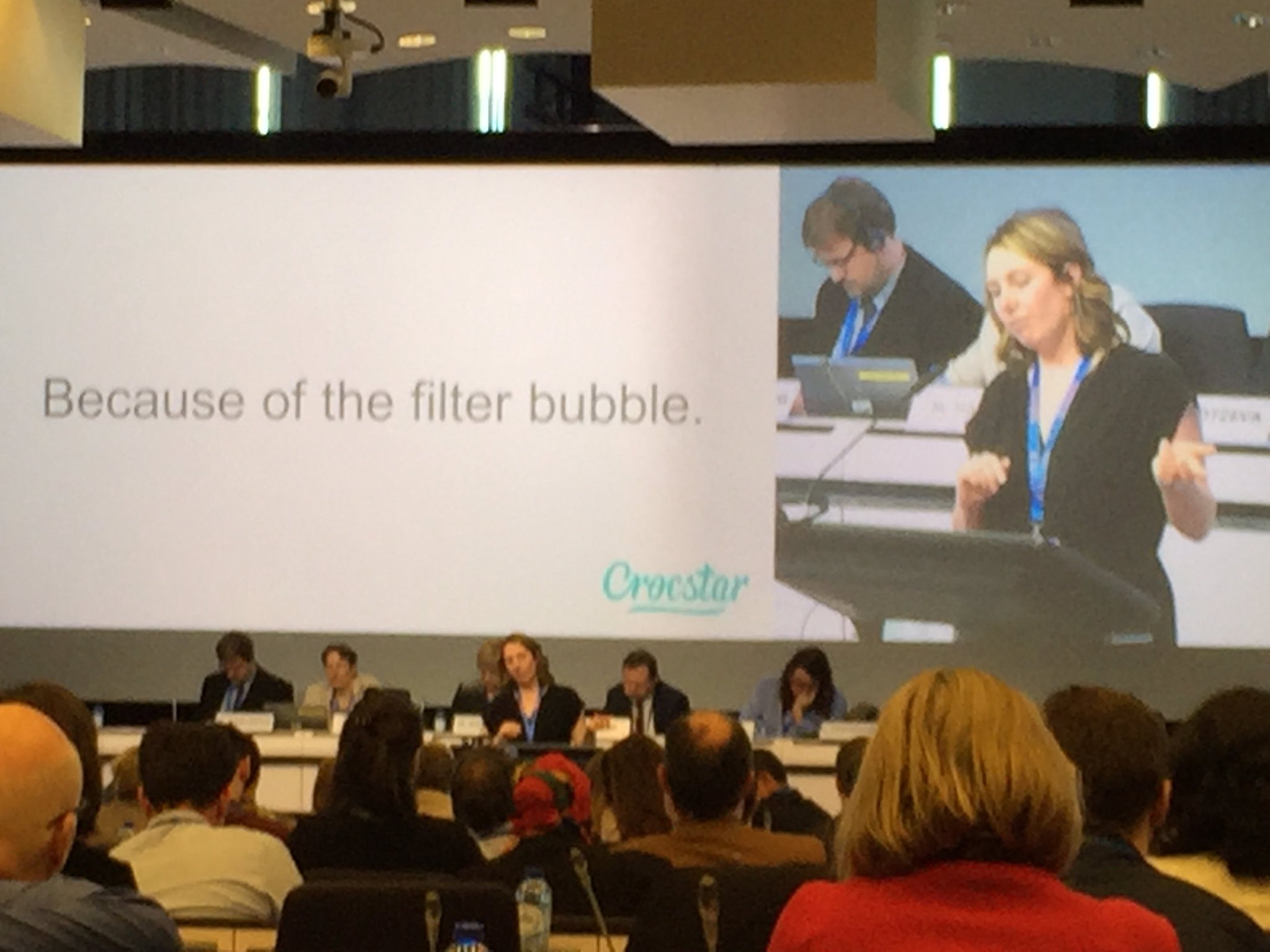 'New statistics users difficult to reach in their filter bubble, need new straregies' @crocstar #NTTS2017 https://t.co/bySkIgg5Lh
