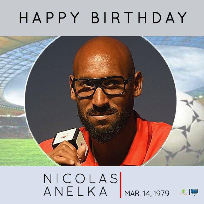 Happy Birthday NICOLAS ANELKA From The Varsity Football Championship Team  Follow us on Instagram