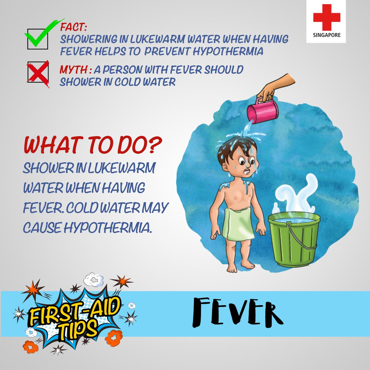 Singapore Red Cross On Twitter Didyouknow A Person With Fever