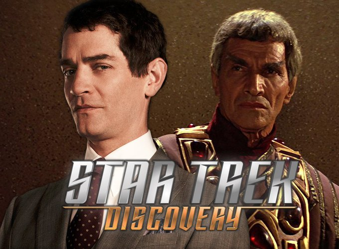 Happy birthday to Sarek, actor James Frain (