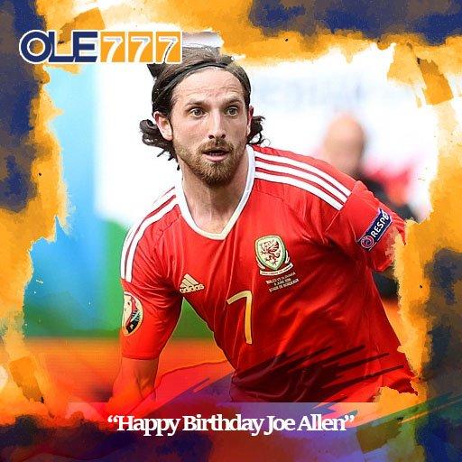 Happy Birthday Joe Allen Untuk Yang Ke-27 Tahun