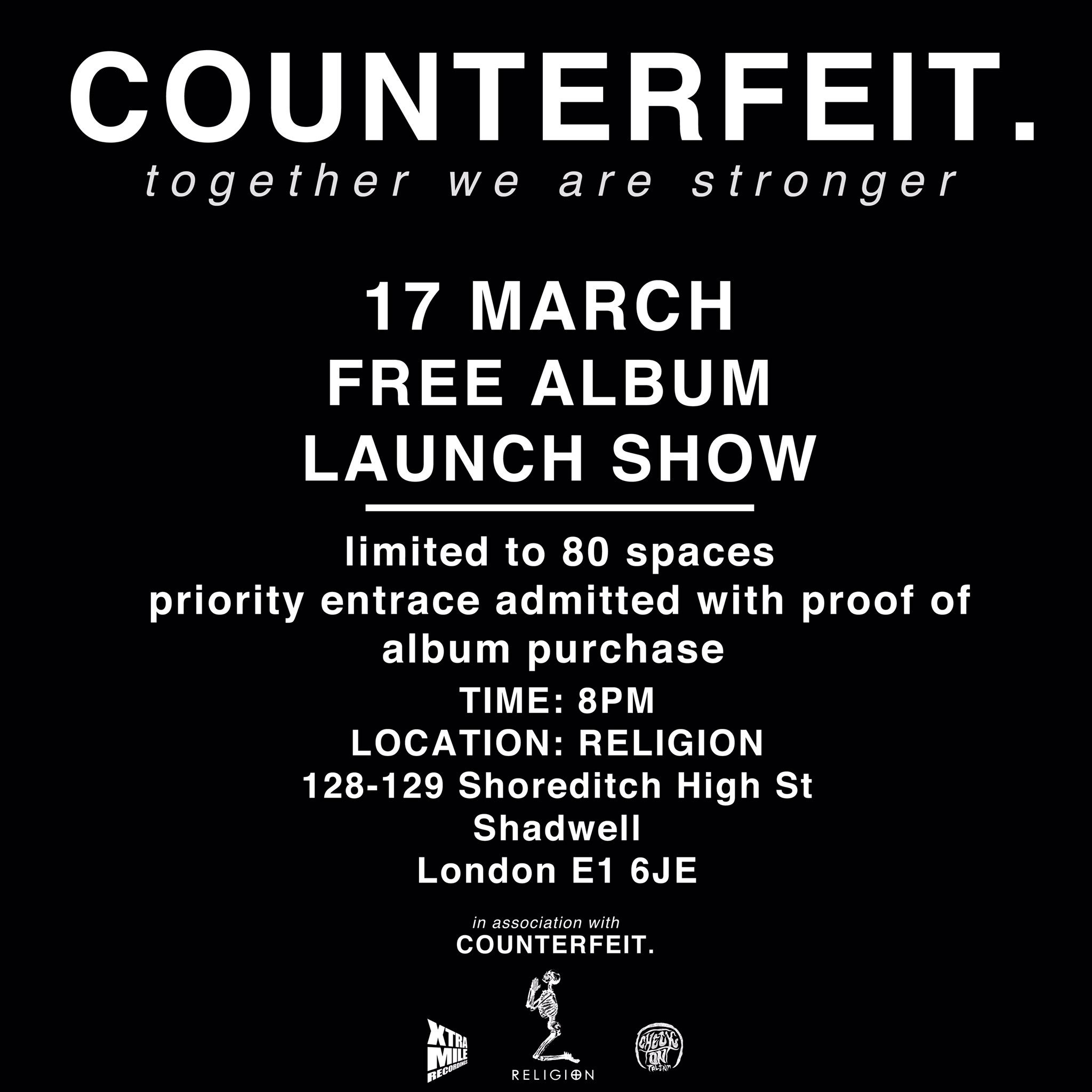 FREE GIG THIS FRIDAY. Be there. https://t.co/W2JtAm4UNW