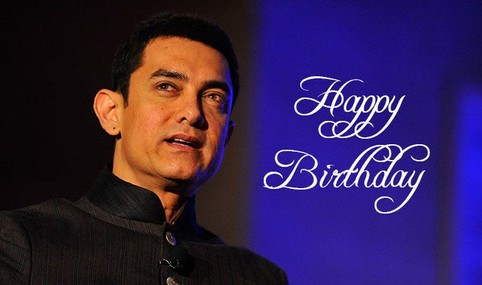 Happy Birthday Aamir Khan: message pours in wishes for the Dangal actor!