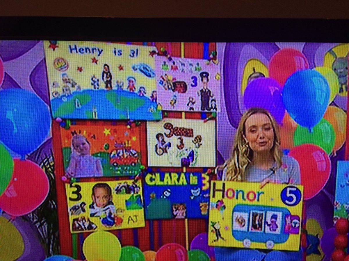 Lesley McAra lesleymcara1 – How to Send Birthday Cards to Cbeebies