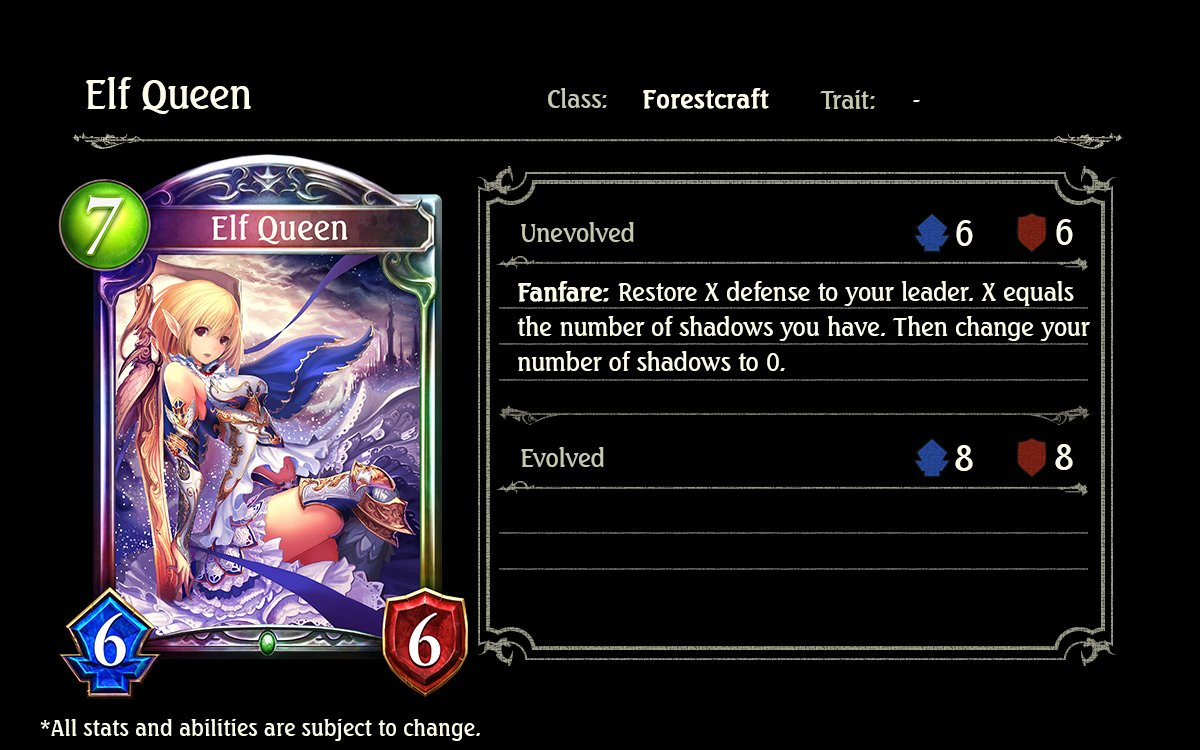 Image result for Elf queen shadowverse