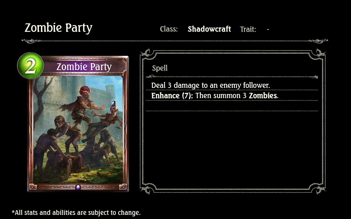 Image result for zombie party shadowverse