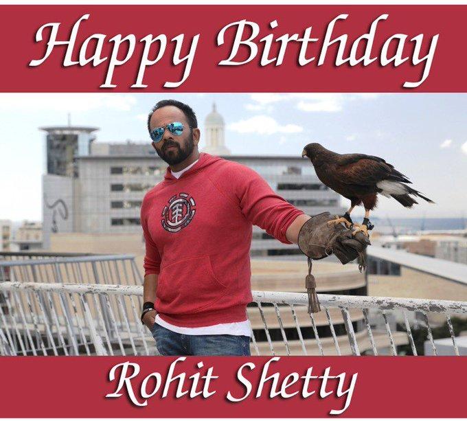 We wish Rohit Shetty a very happy birthday!