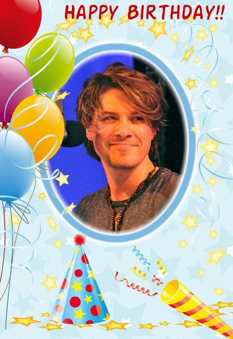 Happy Birthday Taylor Hanson! Have a great day with family and friends!