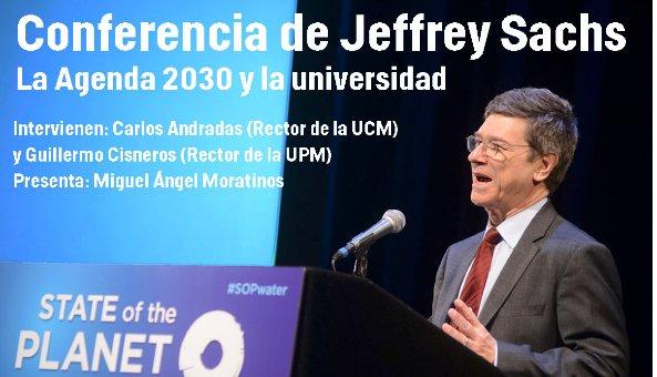 Hoy Jeffrey Sachs, director @reds_sdsn impartirá una conferencia sobre desafíos globales para lograr los #ODS #SDGs https://t.co/Ik7DWegAqd https://t.co/ciRmfkXAag