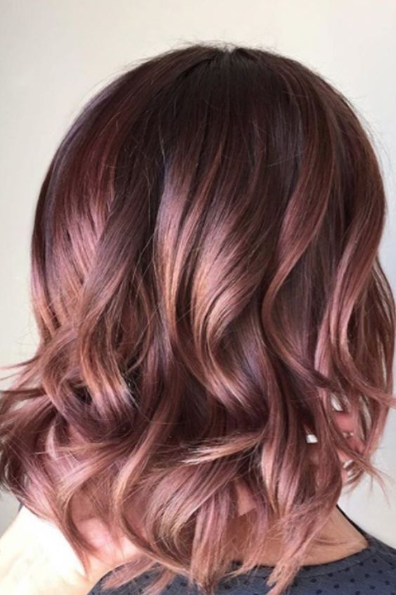 """the Curious Comb on Twitter: """"Rose gold hair goals, what ..."""
