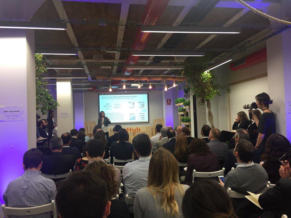 Barcelona Tech City On Twitter Full House Techbreakfastiot