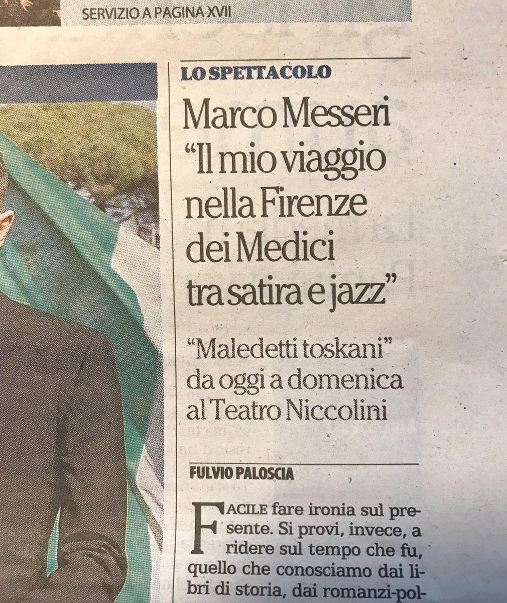 Maddalena Messeri On Twitter Intervista A Marcomesseri Oggi Su
