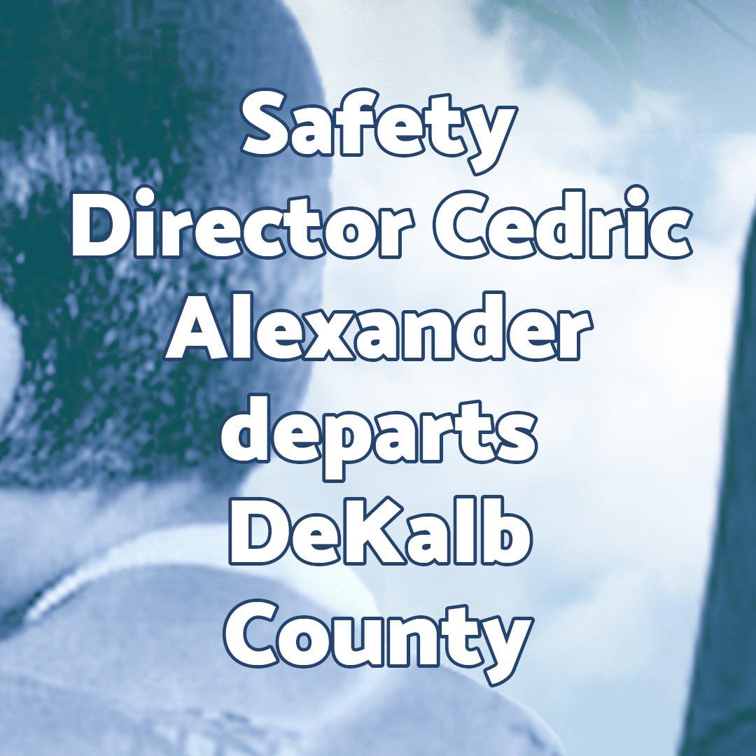 #SafetyDirector #CedricAlexander #departs #DeKalbCounty  https:// goo.gl/nEe7MM  &nbsp;   #WomensHistoryMonth  #CrossRoadsNews #AwardWinning #Newspaper<br>http://pic.twitter.com/JLFCmtao2m