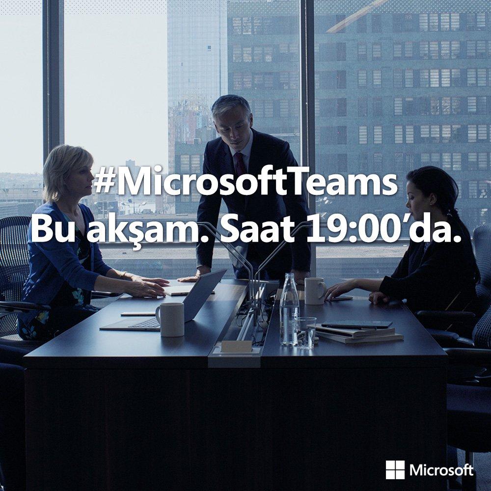 test Twitter Media - İşinizi verimli ekip çalışmalarıyla sürdürmeniz için, sizleri saat 19:00'daki #MicrosoftTeams lansmanına bekliyoruz! https://t.co/2PN8pSybUA https://t.co/4r3qHd9xSi