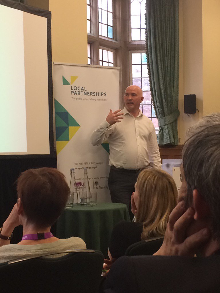 Fascinating pres from Martin Pollard about helping councils achieve their savings ambitions thro our waste work