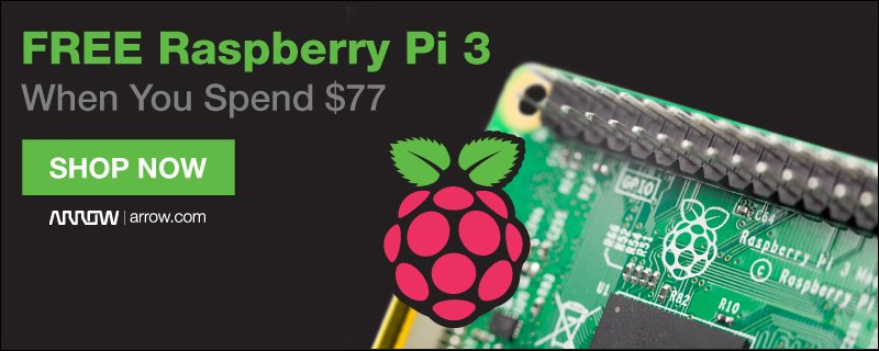 Arrow raspberry pi 3