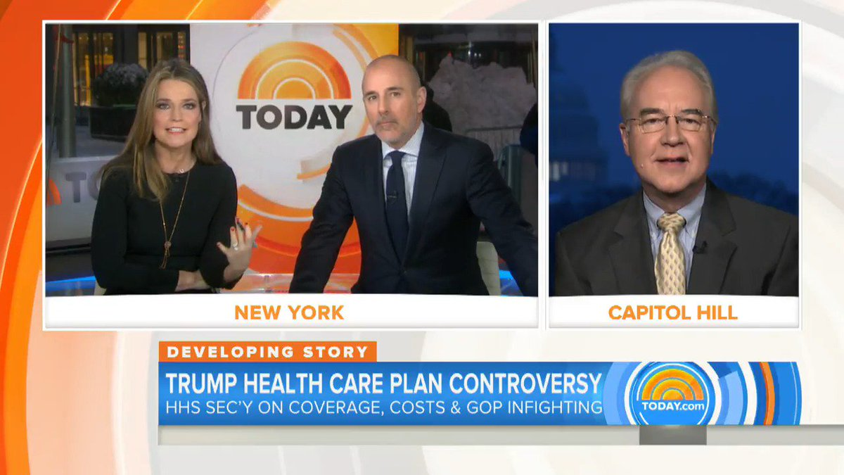 'Are you saying no one is going to lose coverage under this plan? That...