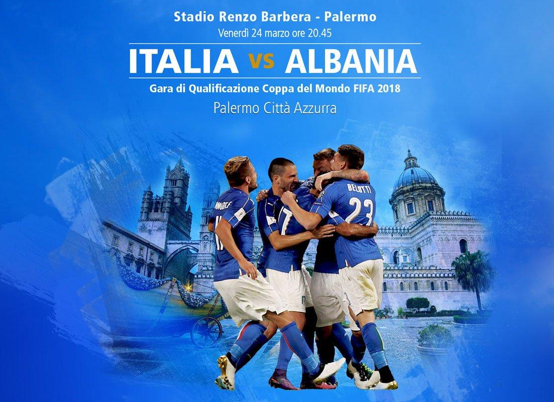 Vedere ITALIA ALBANIA Diretta Rai TV e Streaming Gratis Rojadirecta Live YouTube Oggi