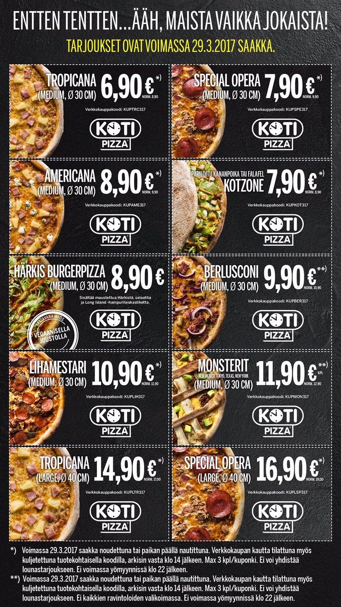 kampanjat kotipizza