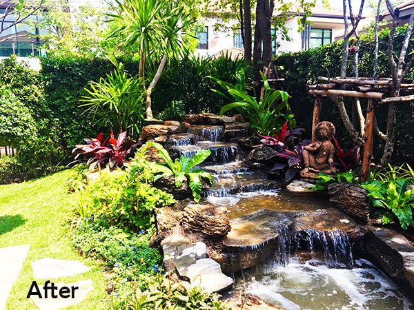 Thai Garden Design On Twitter Amazing Waterfall Garden In Bang