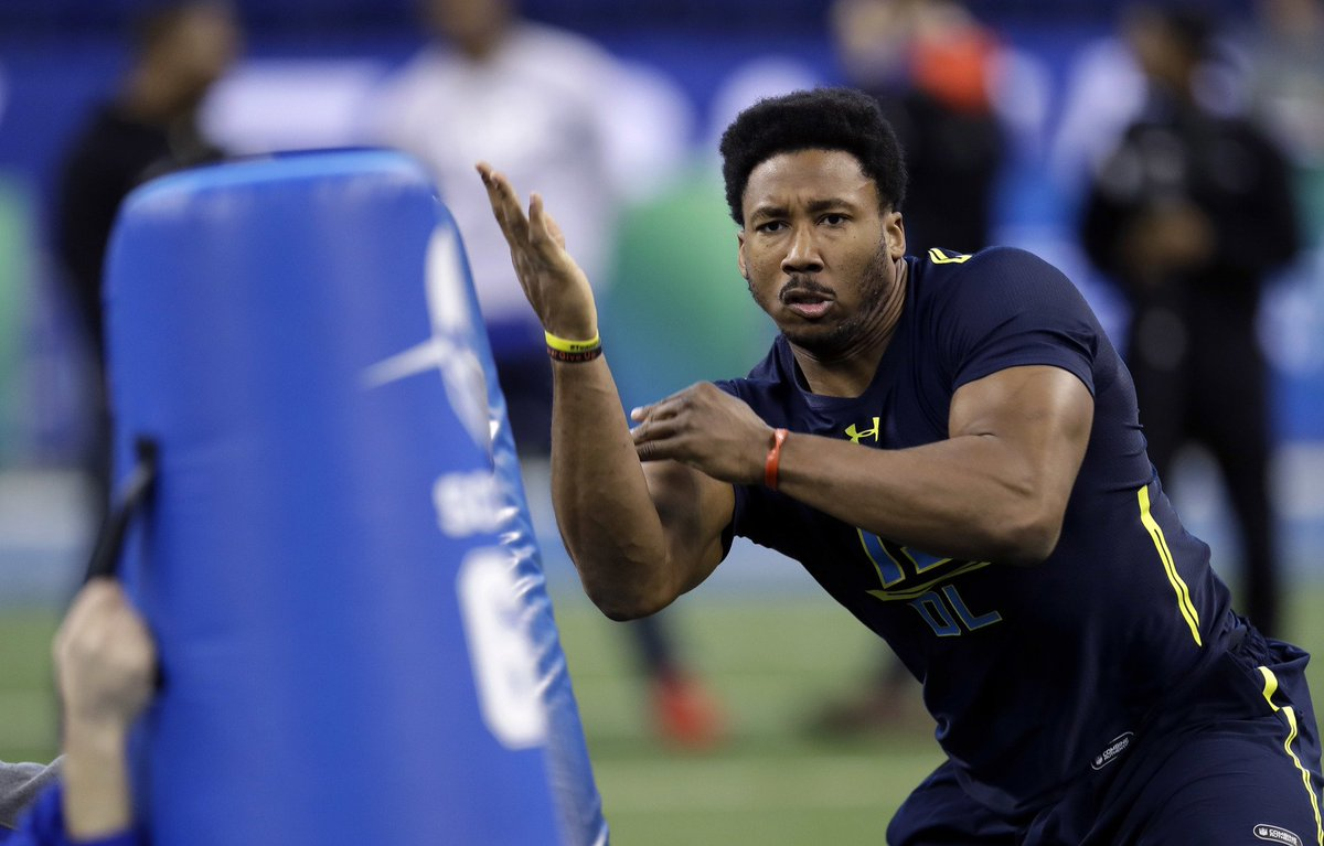 Good morning! My NFL Draft big Board of the Top 100 prospects is live:...