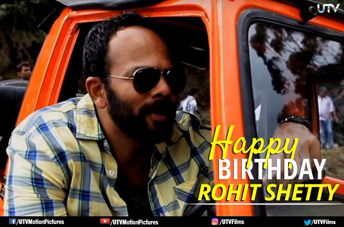 1..2..3..4 Get on the dance floor. Happy Birthday, Rohit Shetty.