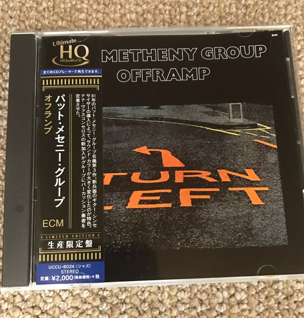 Pat Metheny News On Twitter Received The Uhqcd Version Of Group Al Offramp Release Date 03 08 2017 Available Here