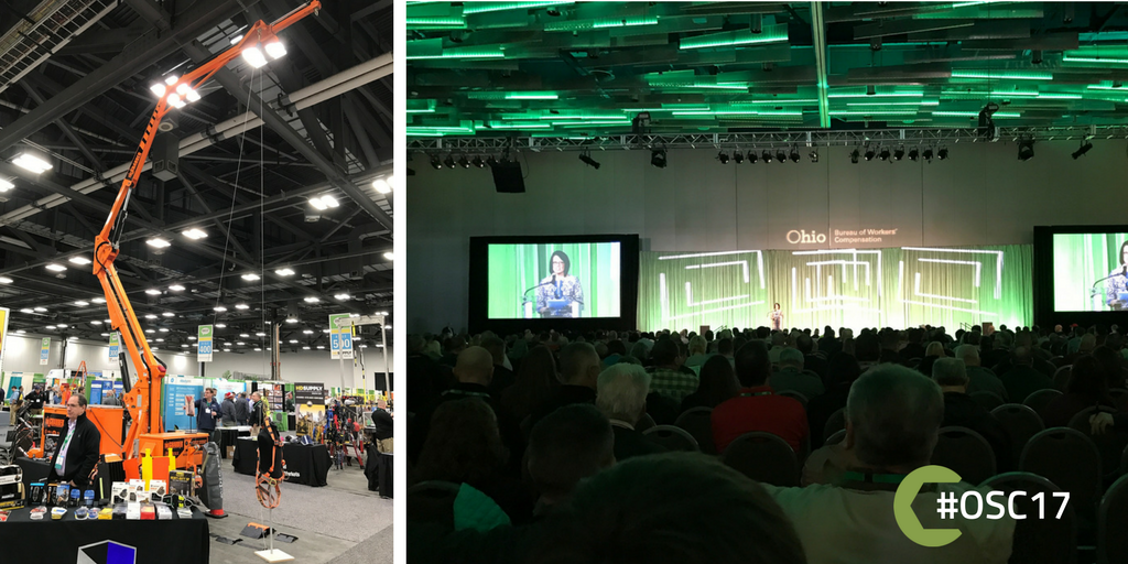 we were out at @OhioBWC's Ohio Safety Congress & Expo last week learning about #safety in the #trades #OSC17 #skilledtrades https://t.co/pOH0IWfM5d