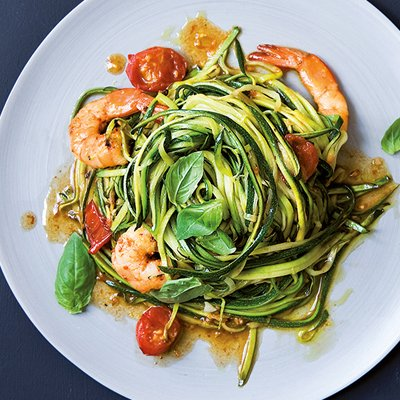 Prawn & Garlic Courgetti