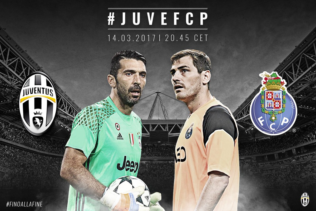 Vedere JUVENTUS PORTO Streaming VIDEO Rojadirecta: info Diretta Online Gratis Champions League