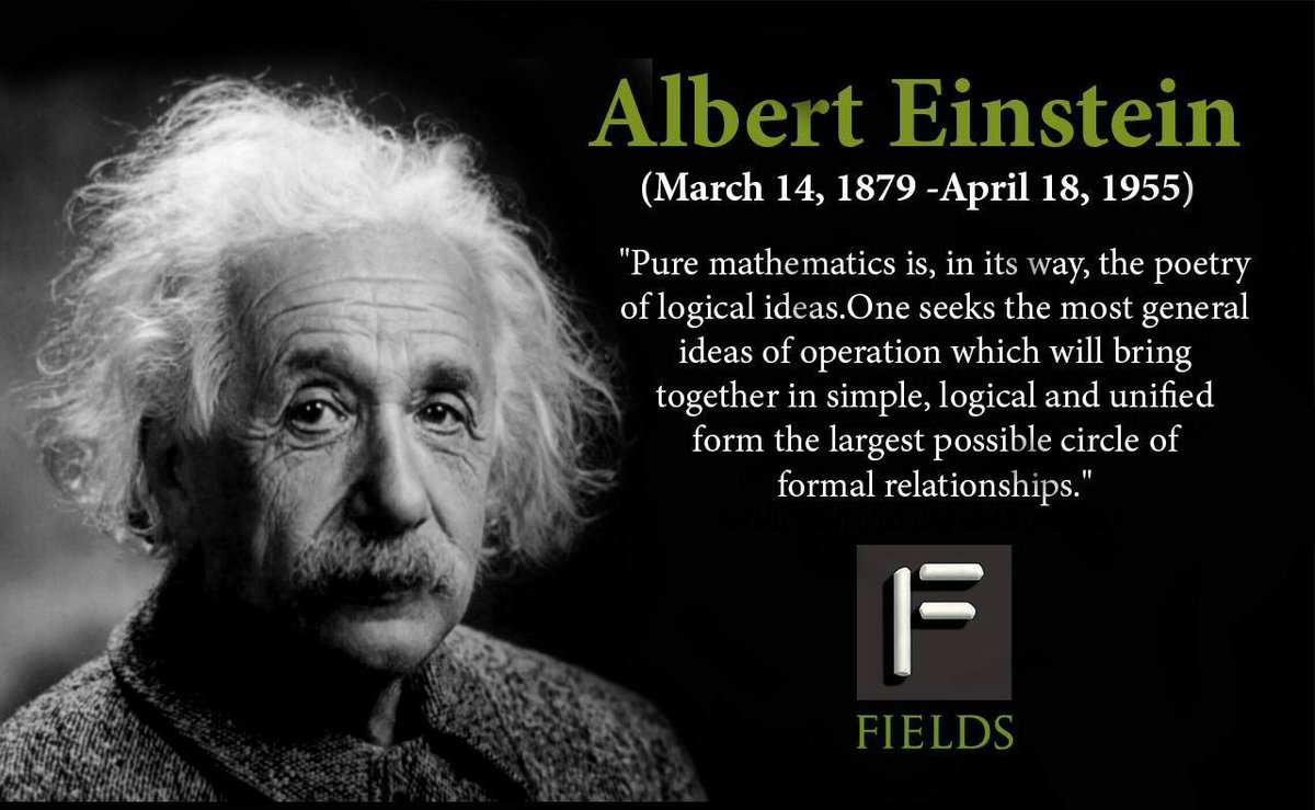 The Fields Institute On Twitter Quot Happy Birthday To Albert