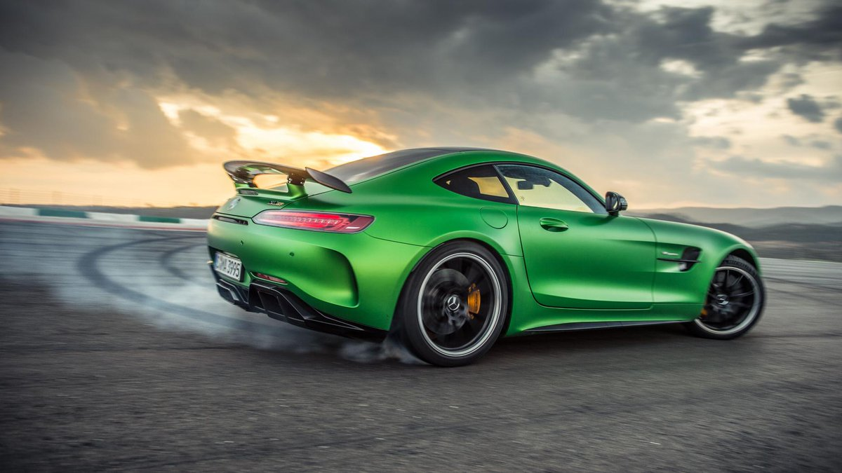 Flat Out In The Mercedes Amg Gt R We Drive S Porsche 911 Gt3 Rs Rival On Road And Track A Worthy Foe Http Www Tpgr Me Ahv6309rtxe