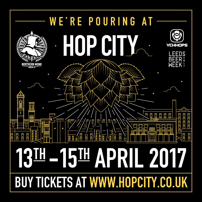 Catch us at @hopcityleeds, alongside a lot of great hoppy beers! https://t.co/v8H0aycyTT